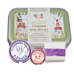 Lavender and Rose Gift Set