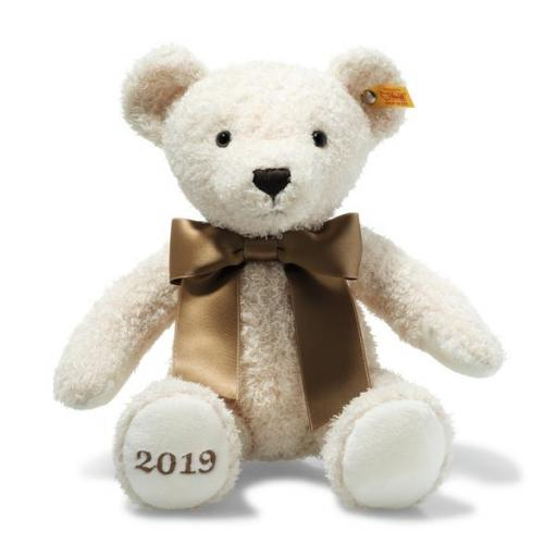 Cosy Year Bear 2019 Steiff Christening or Baby Gift