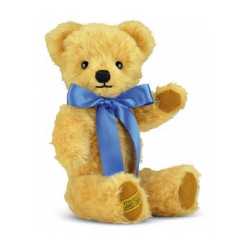 London Curly Gold 14 inch Merrythought Traditional Teddy Bear