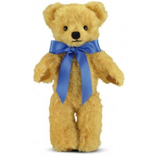 London Curly Gold 16 inch with Growl Merrythought Traditional Teddy Bear