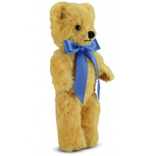London Curly Gold 10 inch Merrythought Traditional Teddy Bear