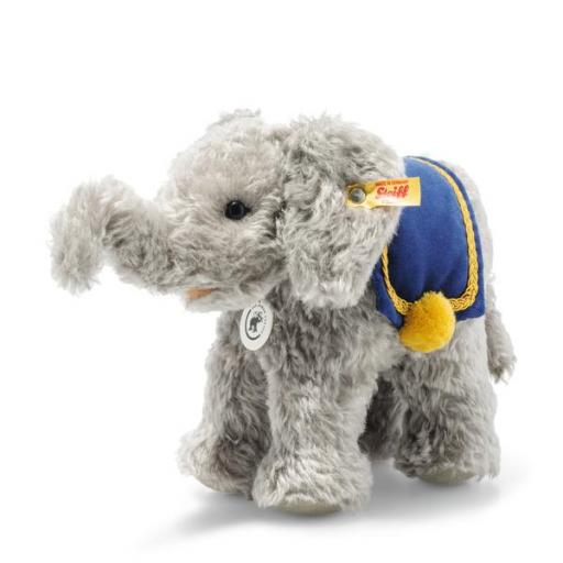 Steiff Elephant - Grey - Collector's