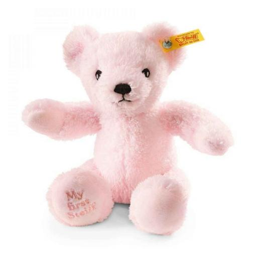 My First Steiff Pink Teddy Bear