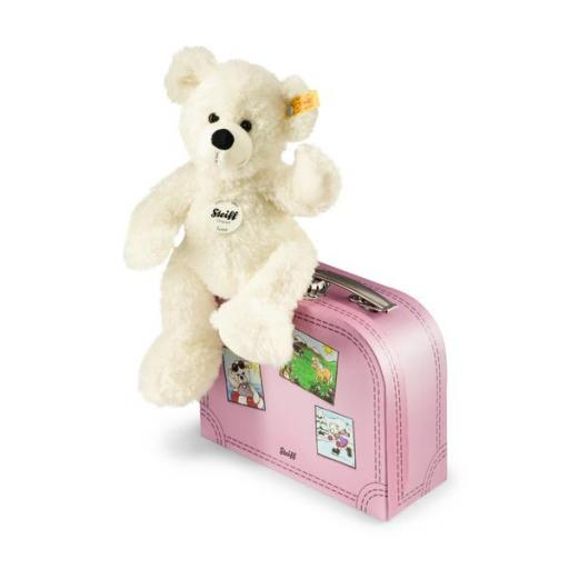 Lotte Teddy bear with suitcase