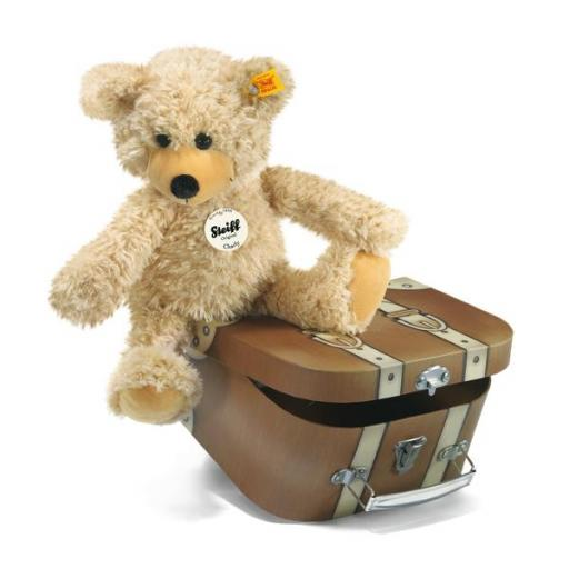 Charly Bear with suitcase