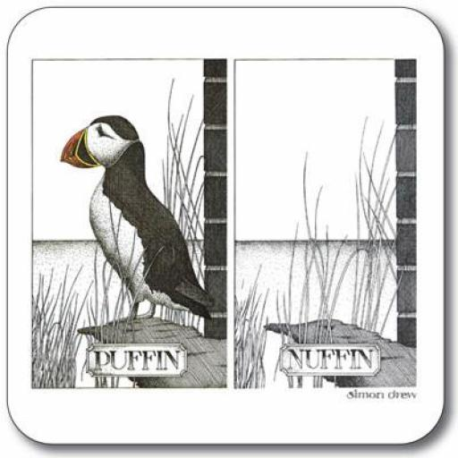 Puffin Nuffin Coaster