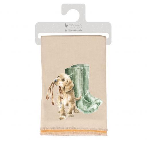 'Hopeful' winter scarf