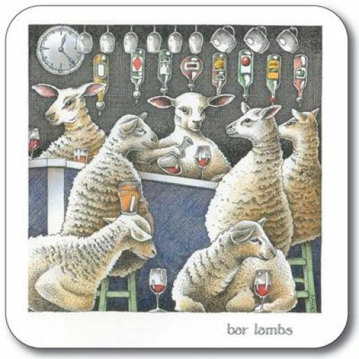 Bar Lambs Coaster