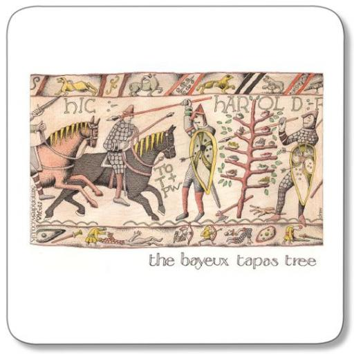 The Bayeux Tapas Tree
